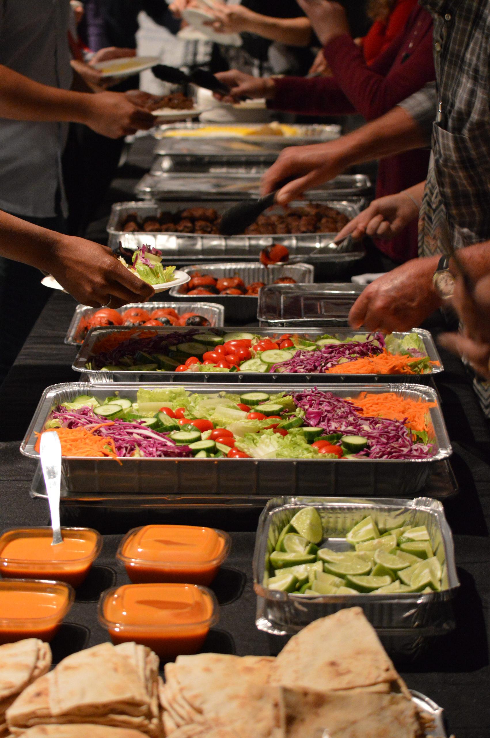 banquet food